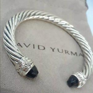 DAVID YURMAN HAMPTON BLUE TOPAZ DIAMONDS 7mm